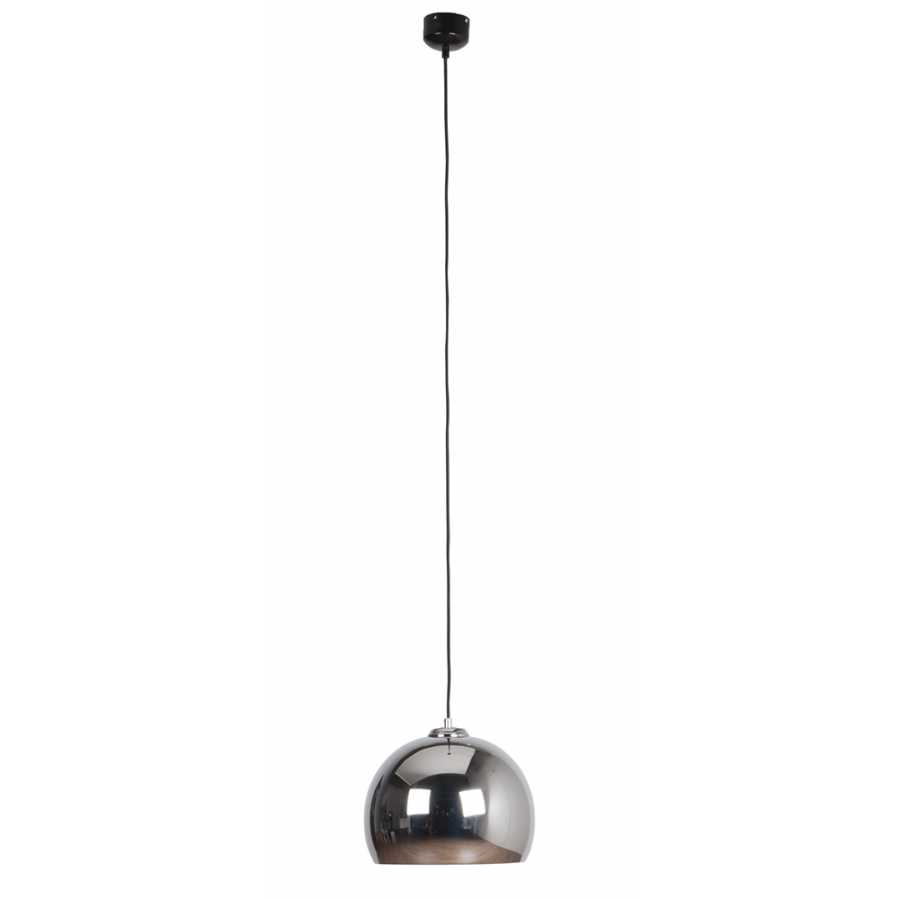 Zuiver Big Glow Pendant Light - Chrome