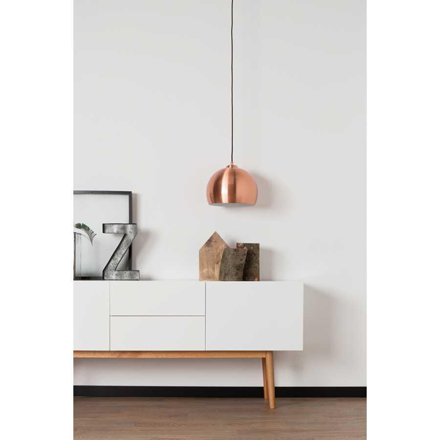 Zuiver Big Glow Pendant Light - Copper