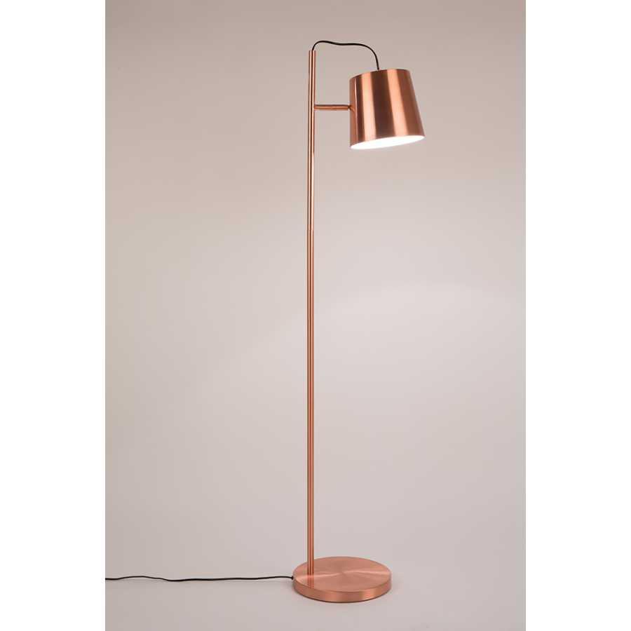 Zuiver Buckle Head Floor Lamp - Copper