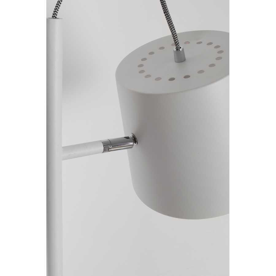 Zuiver Buckle Head Floor Lamp - White
