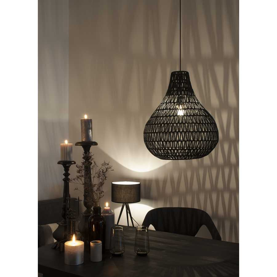Zuiver Cable Drop Pendant Light - Black