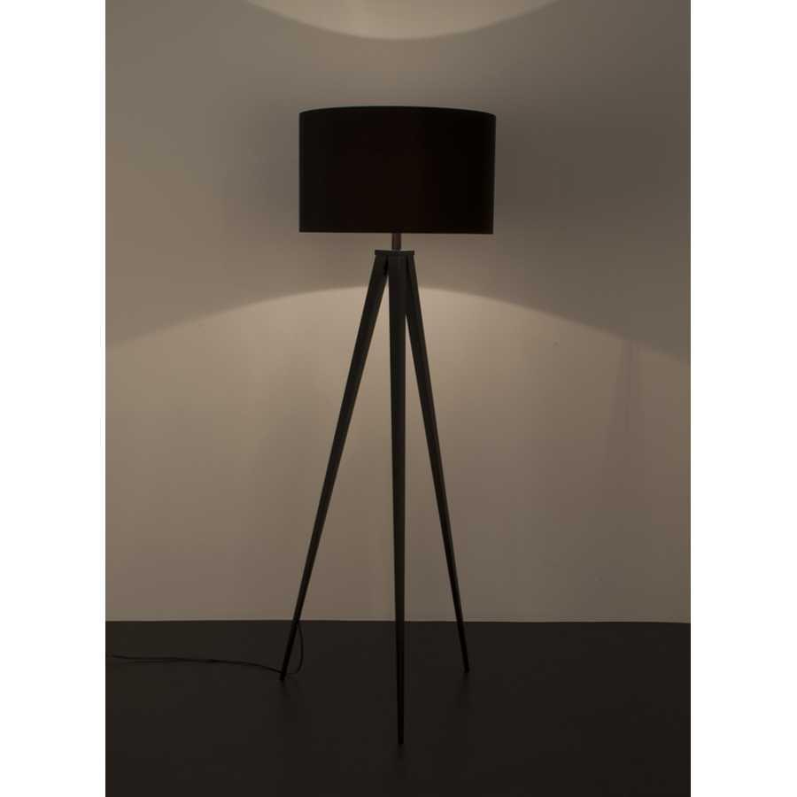 Zuiver Tripod Wood Floor Lamp - Black