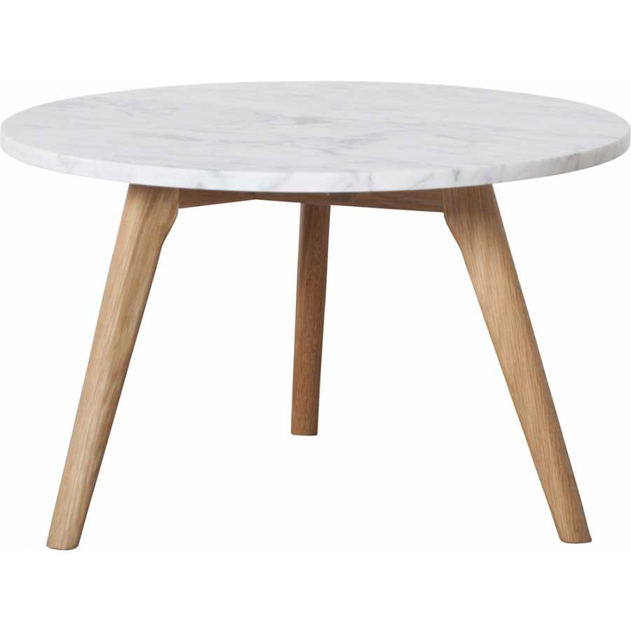Zuiver White Stone Side Table - Large