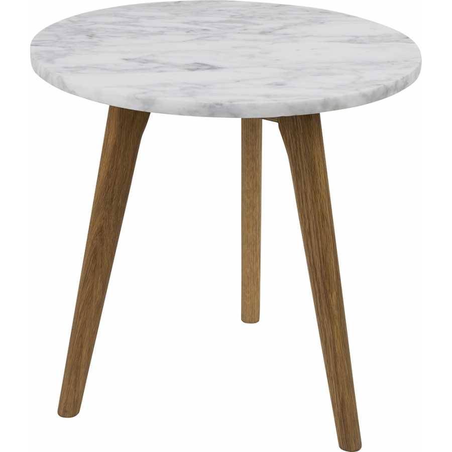 Zuiver White Stone Side Table - Medium