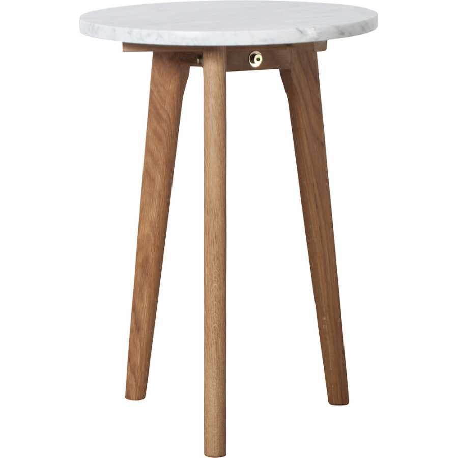 Zuiver White Stone Side Table - Small