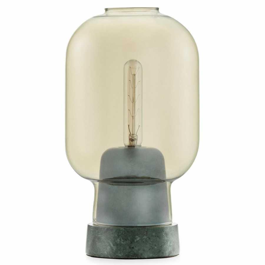 Normann Copenhagen Amp Table Lamp - Gold/Green